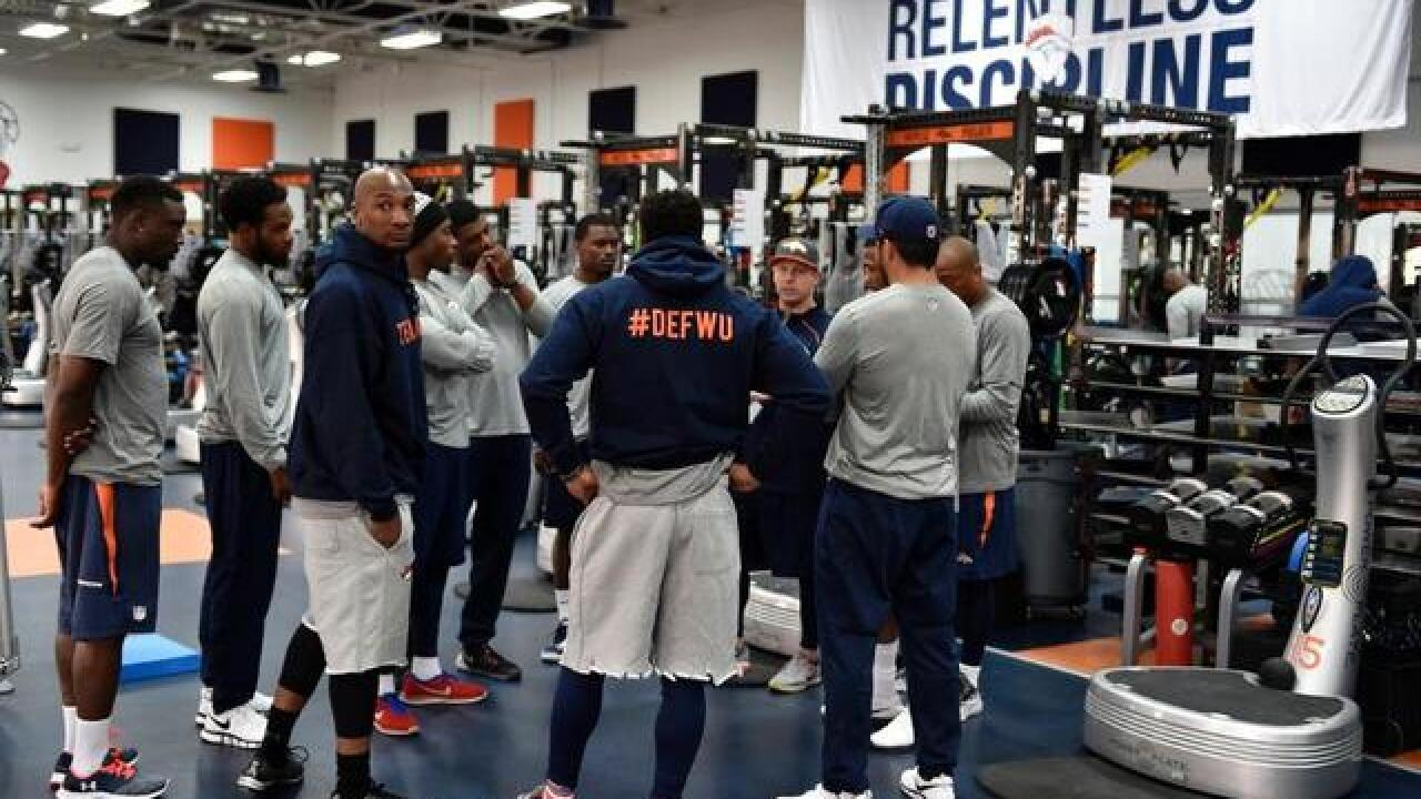 Broncos back to work for offseason conditioning