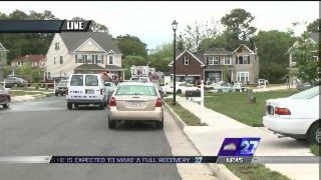 Hampton police kill man; three others found dead