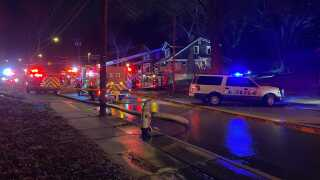 Baltimore Ave fire