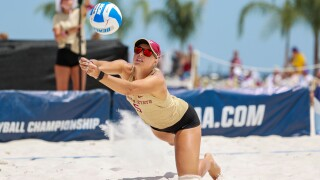 FSU beach volleyball