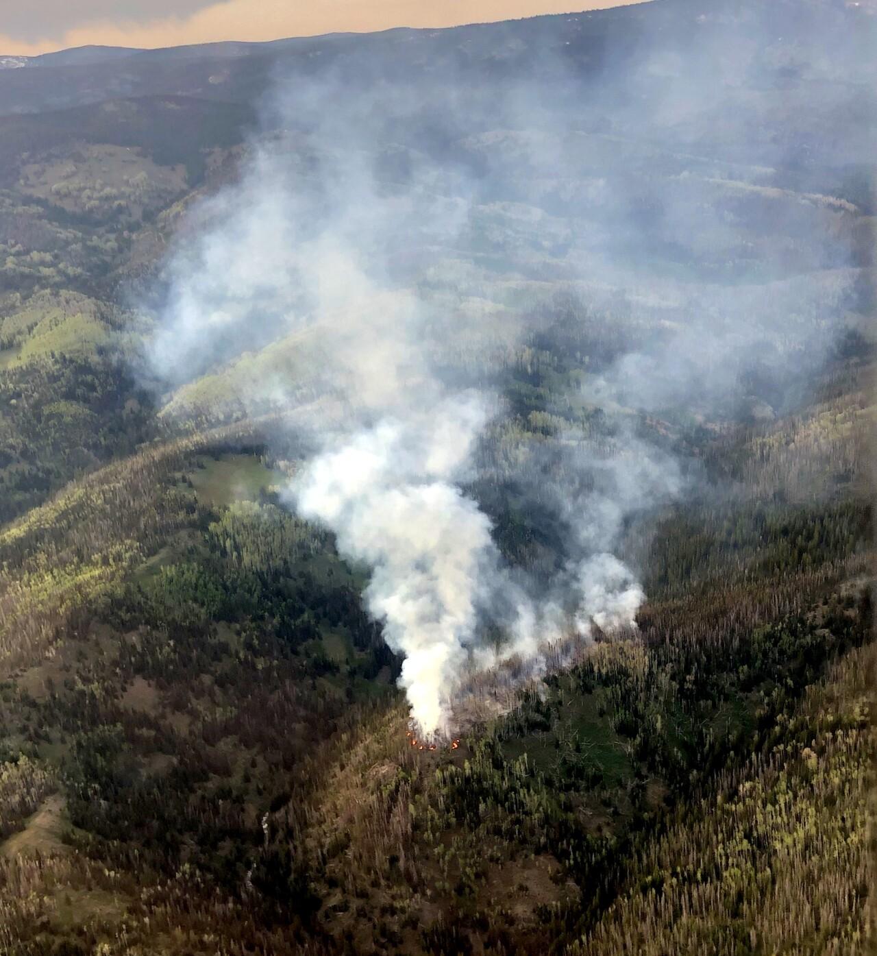 North Fork Fire in WY_June 7 2021_Casper Interagency Dispatch Center