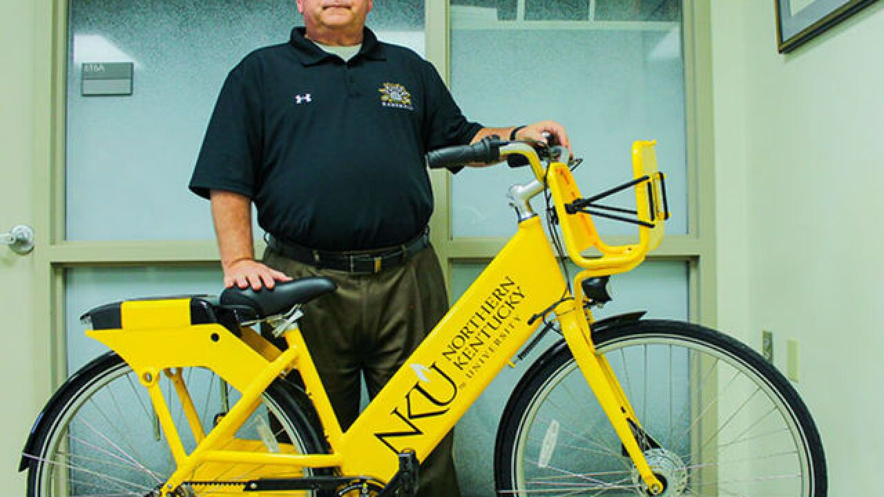 Bike sharing graduates to college campus