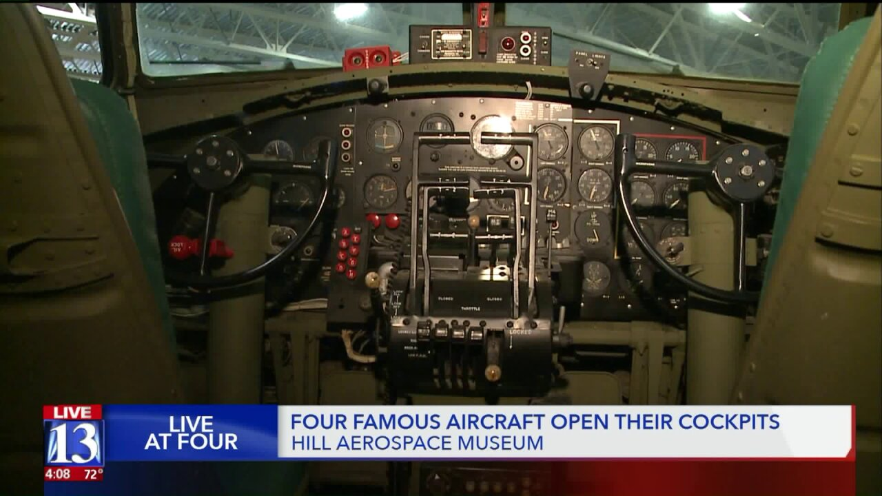 Cockpits of vintage aircraft open at Hill Aerospace Museum's annual 'Open AircraftDay'