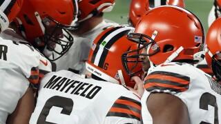 Baker Mayfield Browns