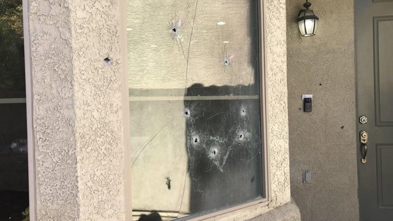 NLV police: girl shot, killed in neighborhood