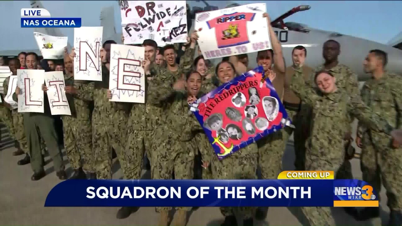 April's Squadron of the Month: The VFA-11 RedRippers
