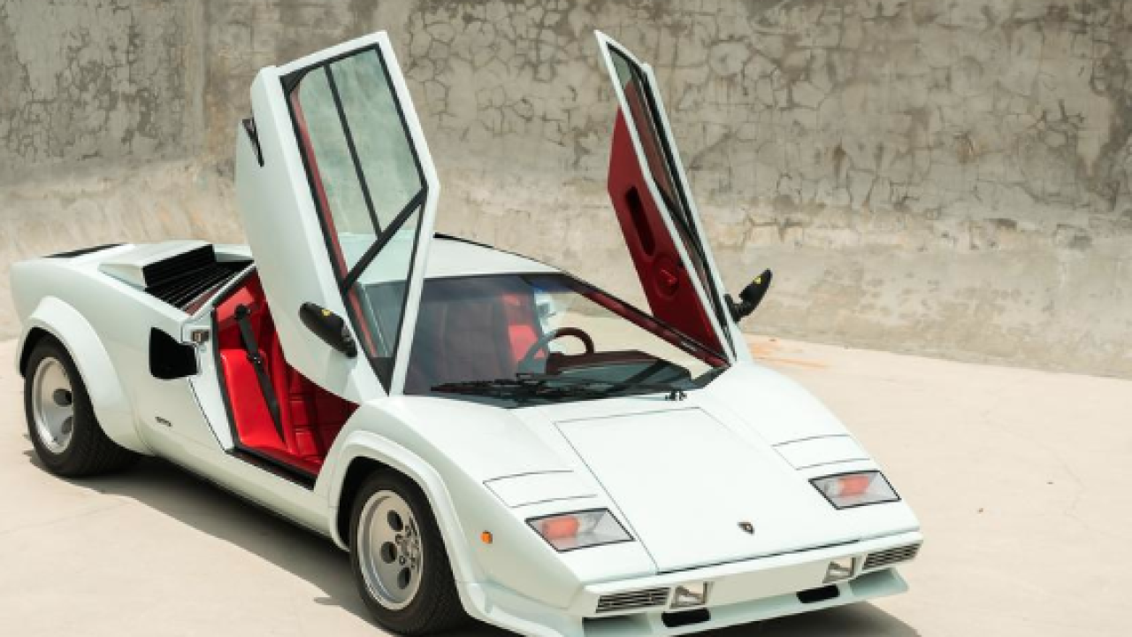 Lamborghini Countach LP5000 QV Downdraft Coupe