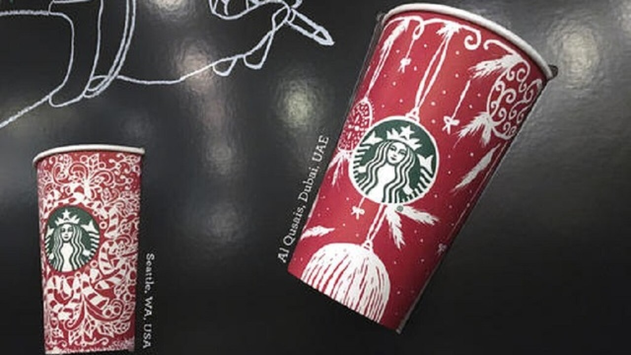 Starbucks turns to customers for annual holiday cup designs