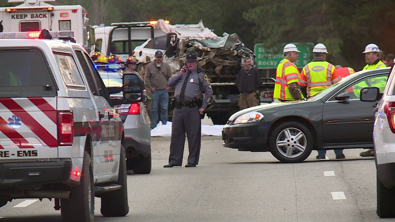 Police ID 3 victims killed in I-95 head-on crash in PrinceGeorge