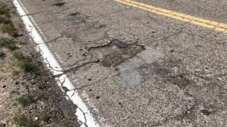 Large Number of Potholes on Eastside