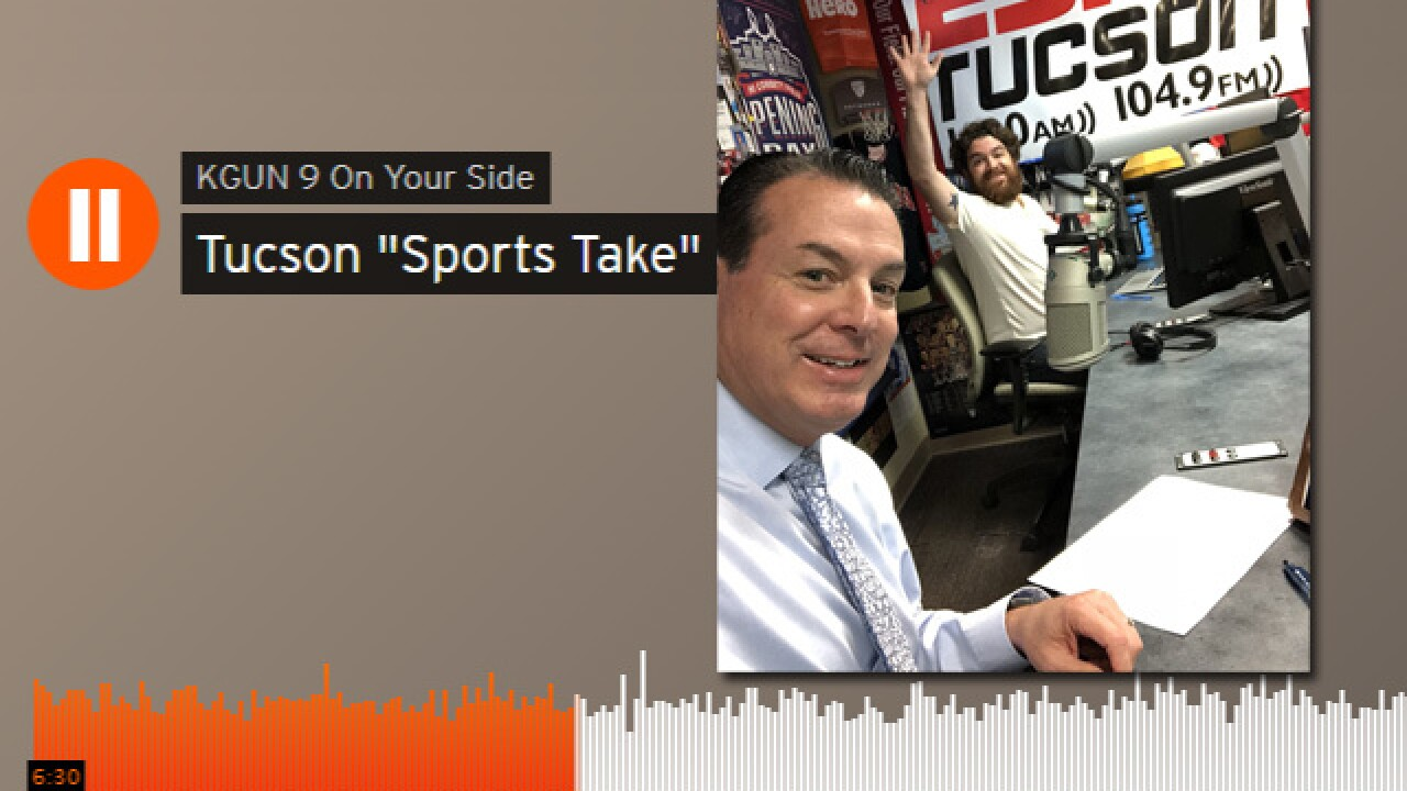 'Sports Take' podcast makes debut