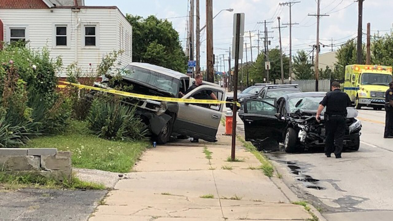 17 hurt in three-vehicle accident on east side
