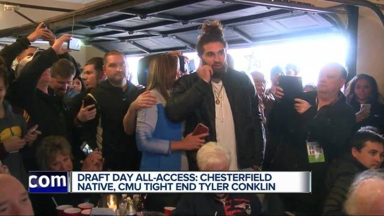 Chesterfield's Conklin drafted by Vikings