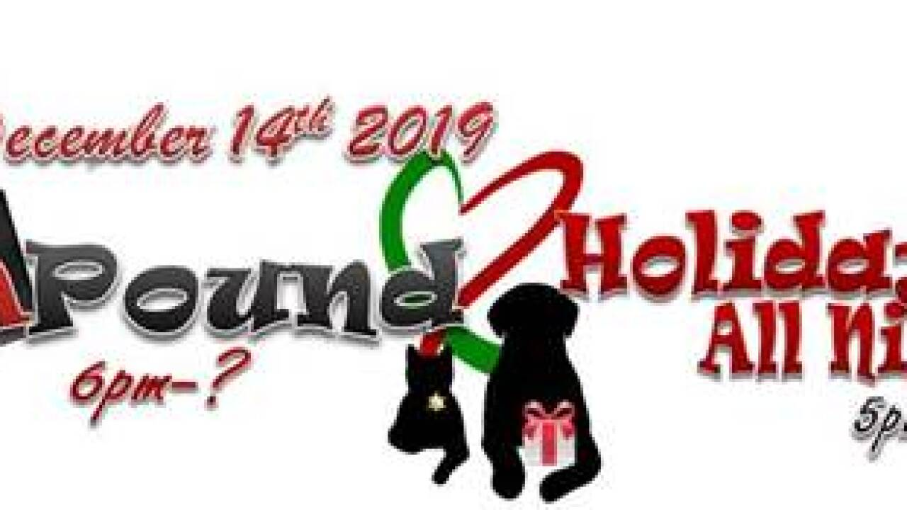 Animal Shelter Hosting Holiday Events on December 14th