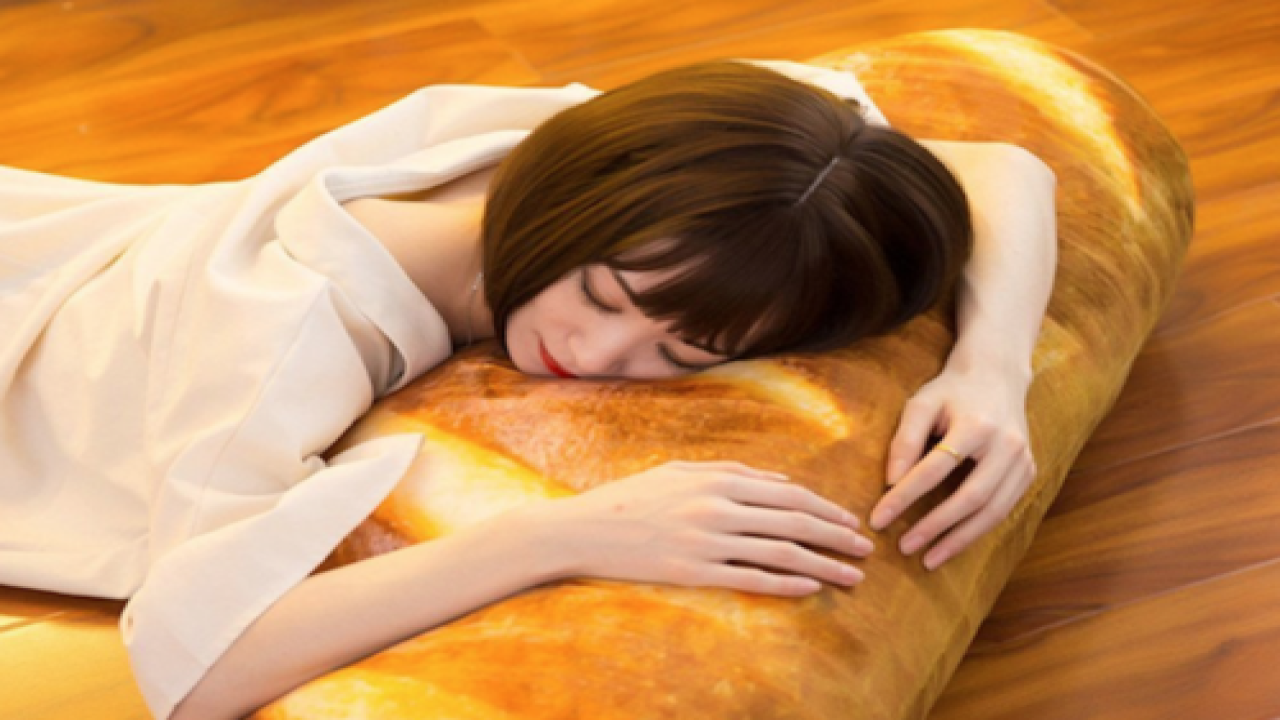 You Can Now Buy A Pillow Shaped Like Bread For The Most Delicious Dreams Ever
