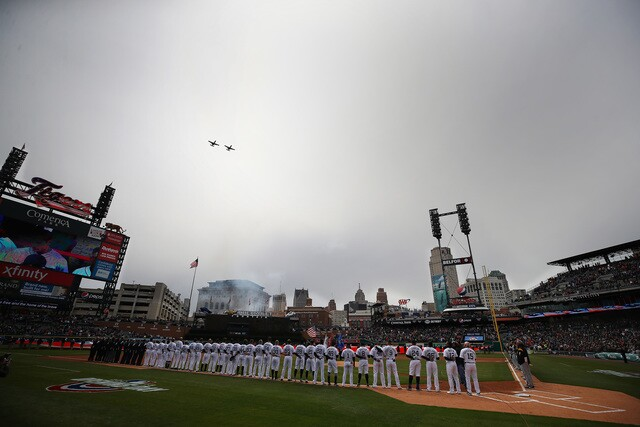 GALLERY: See the best photos from Detroit Tigers Opening Day