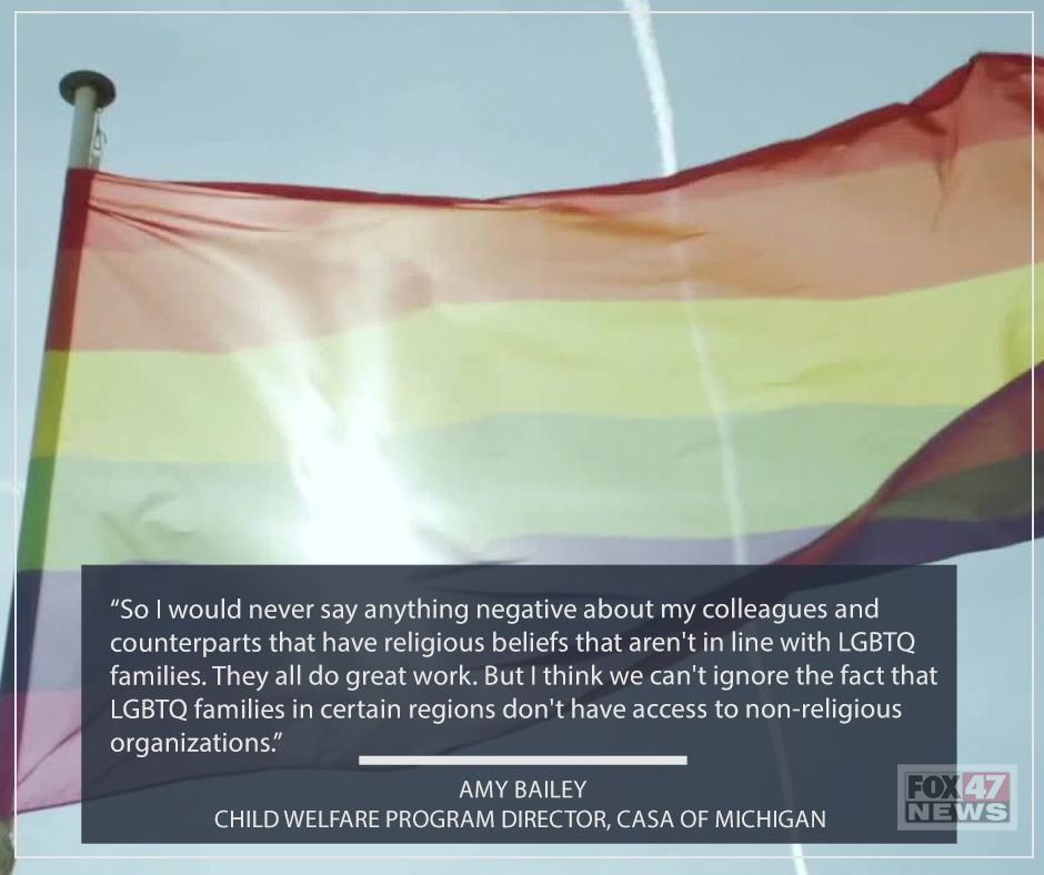 """""""We can't ignore the fact that LGBTQ families in certain regions don't have access to non-religious organizations,"""""""