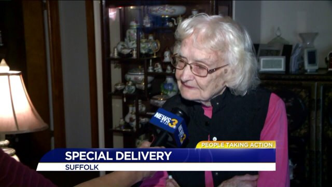 Helping out members of the community is a family affair inSuffolk