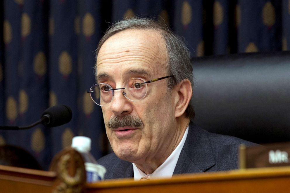 House Foreign Affairs Committee Chairman Rep. Eliot Engel speaks during the House Foreign Affairs subcommittee hearing on Venezuela at Capitol Hill in Washington (Jose Luis Magana/AP, FILE).