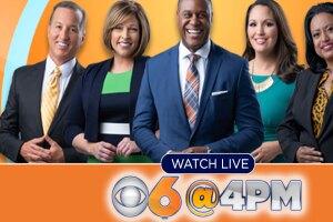 CBS 6 News at 4 p.m.