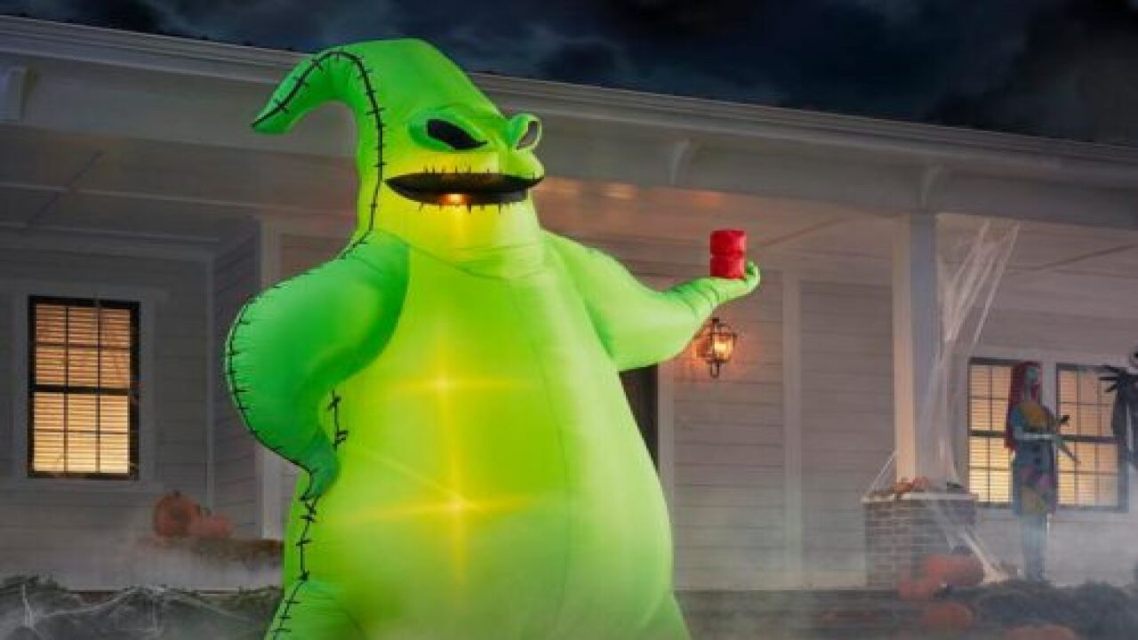 Gigantic 'Oogie Boogie' Halloween Inflatable Now Available From Home Depot