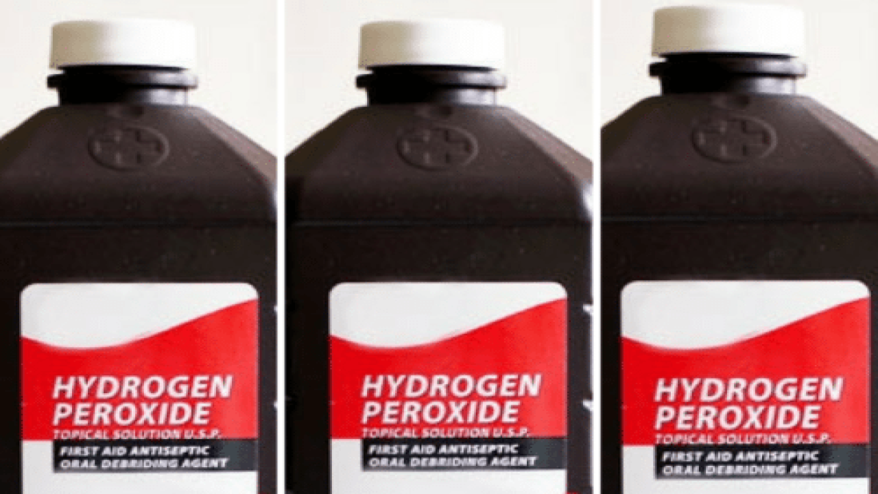 13 Surprising Ways To Use Hydrogen Peroxide Around The House You Probably Haven't Thought Of Yet