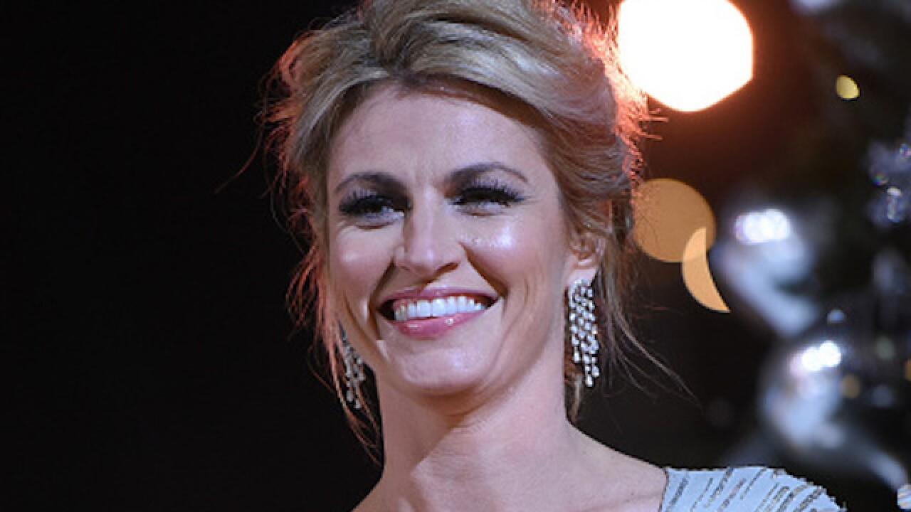 Erin Andrews battled cancer in 2016 — and didn't miss any NFL broadcasts