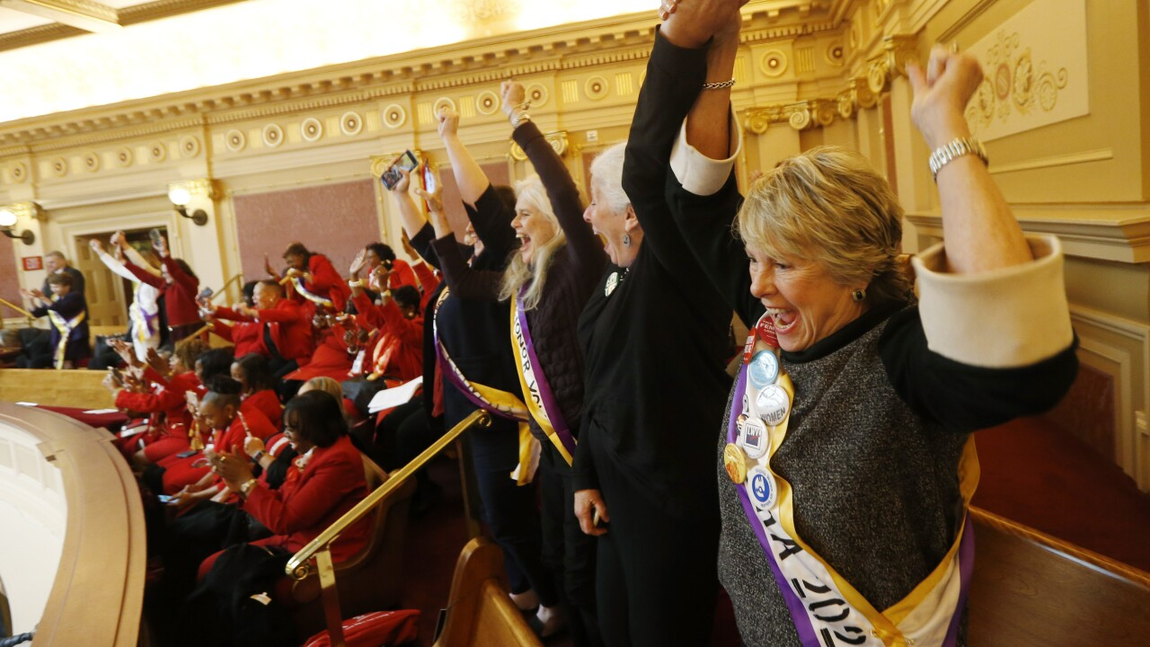 Virginia becomes critical 38th state to ratify Equal Rights Amendment