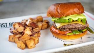 Daredevil Burger at Breakfast Republic