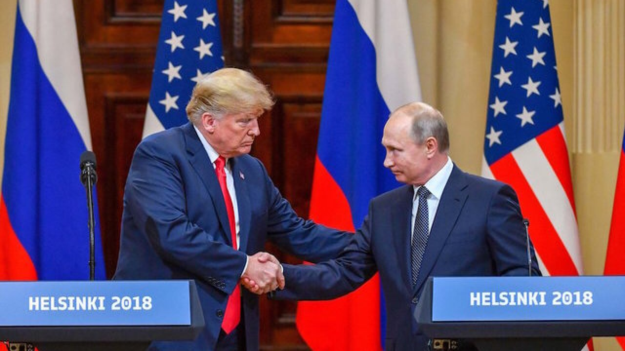 White House fixes Trump-Putin transcript error after key question omitted