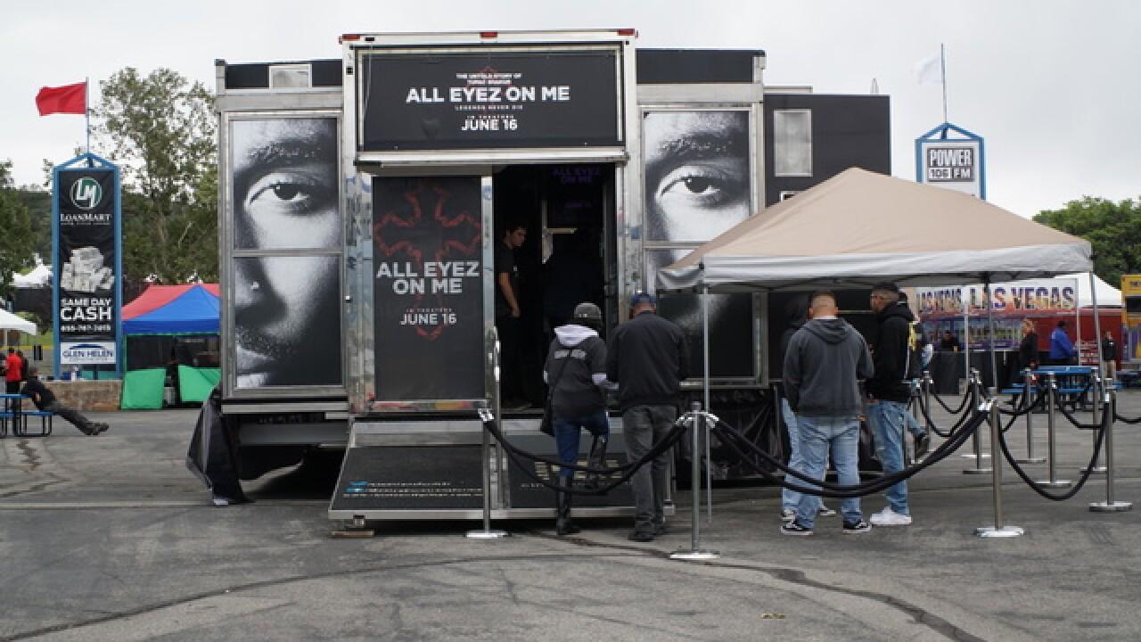 'All Eyez on Me' cinema tour stops in Las Vegas