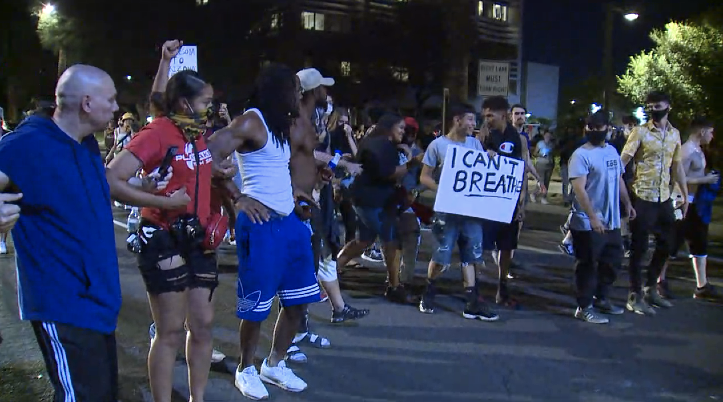 PHOTOS: Protesters rally in downtown Phoenix amid George Floyd's death