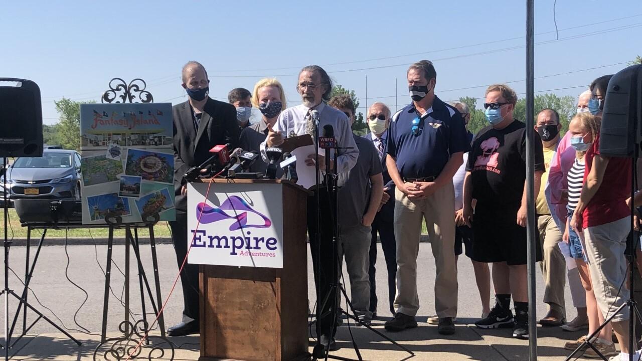 Empire Adventures fundraising to reopen Fantasy Island