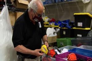 Local, veteran-owned company seeking patent on anti-fog masks