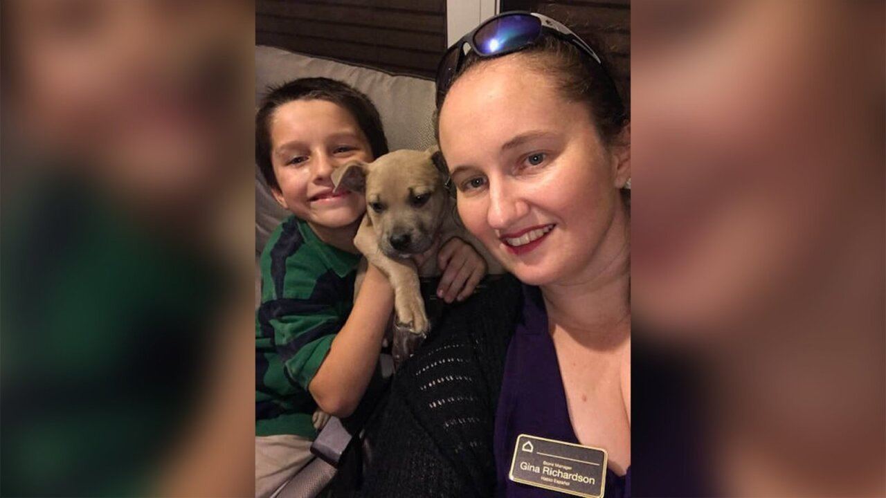 Florida family mourns the loss of hero pit bull, who died protecting  children from a venomous snake