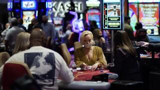 casino dealer mask