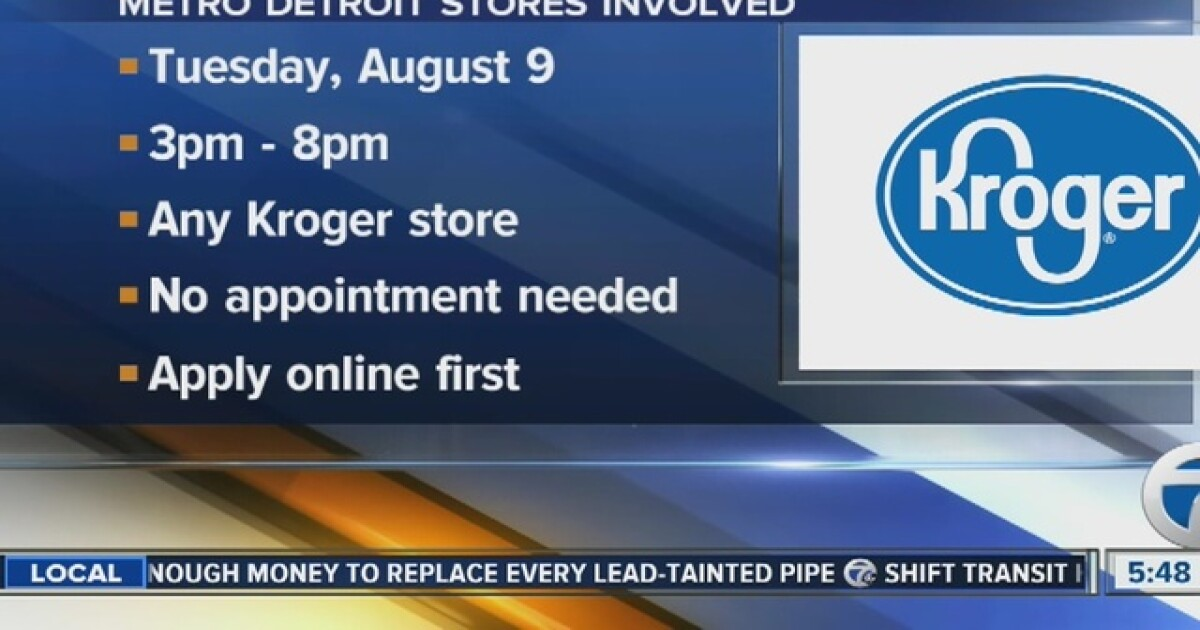 Kroger is holding its second nationwide hiring event of the year