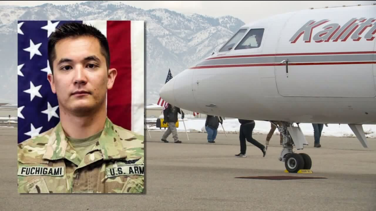 Army pilot killed in helicopter crash arrives in Utah forburial
