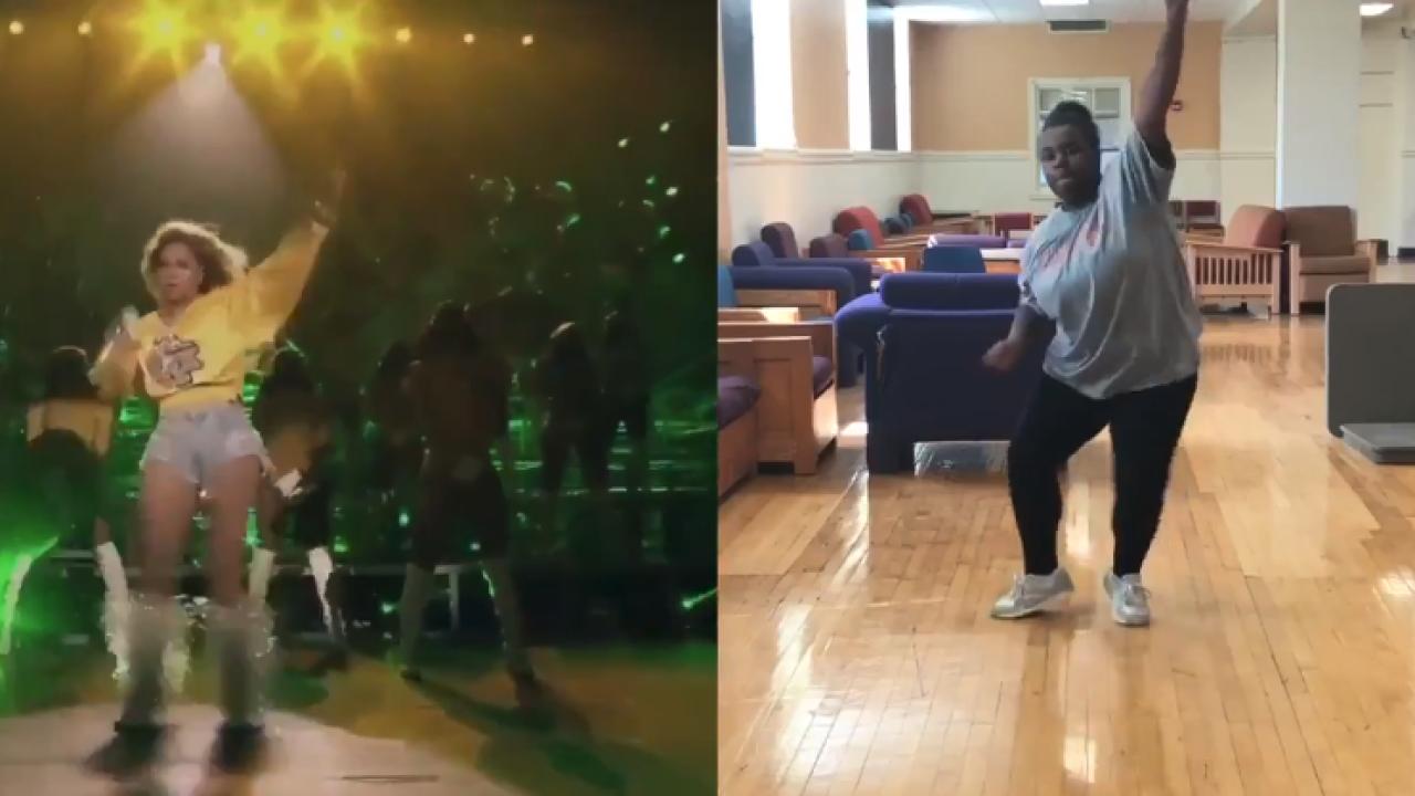 VSU student becomes viral sensation with Beyoncé danceroutine