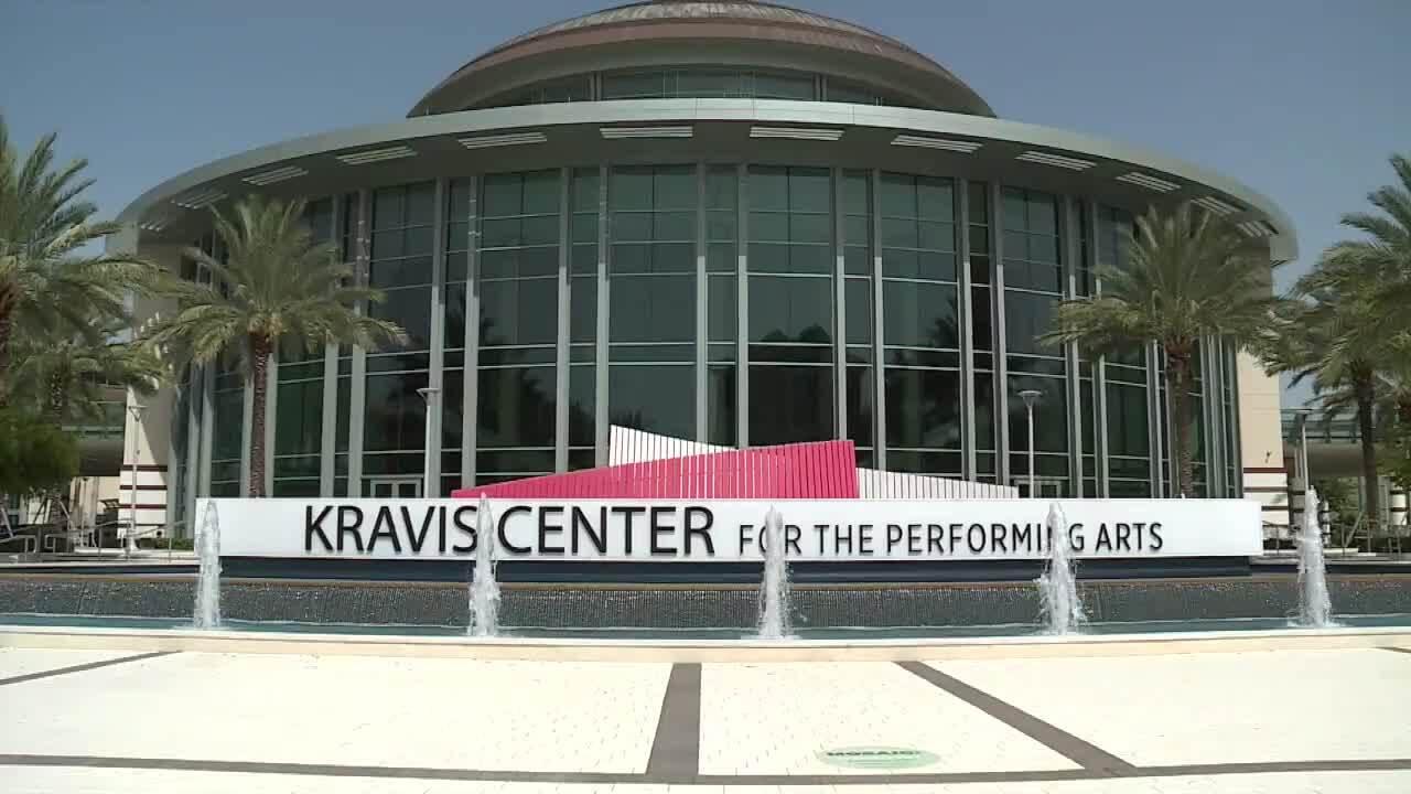 Kravis Center for the Performing Arts in September 2021