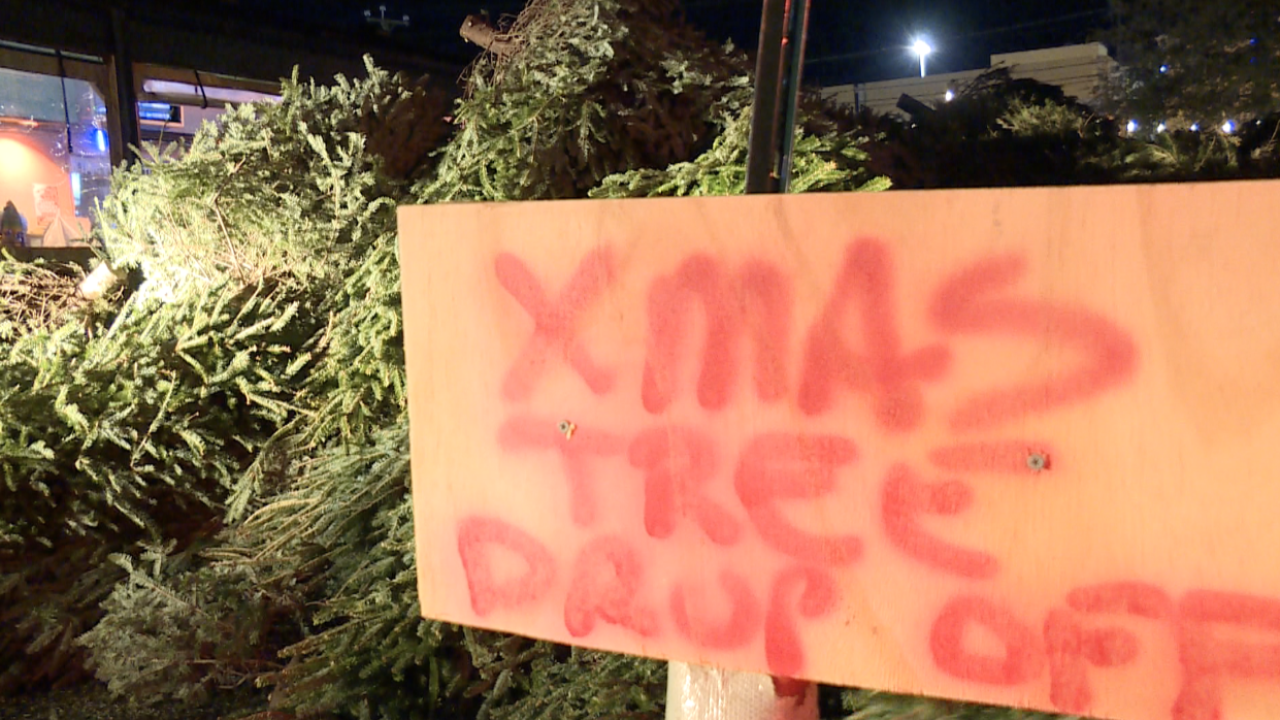 Getting rid of your Christmas tree? Chicho's Pizza will take it
