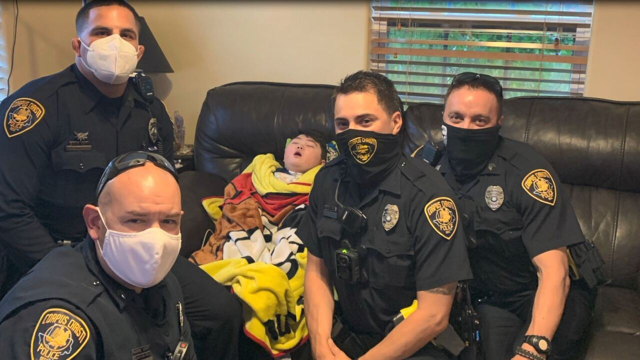 CCPD officers turn family's terror into a treat