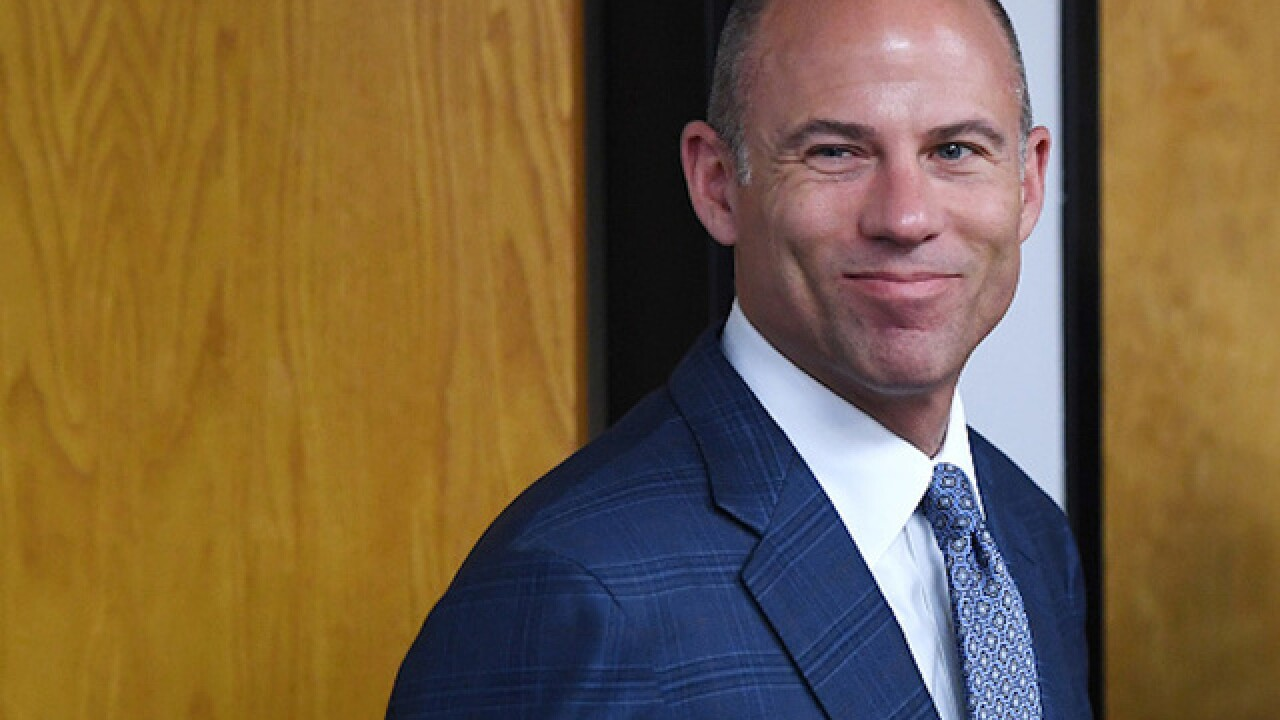 Official: Michael Avenatti in Los Angeles police custody