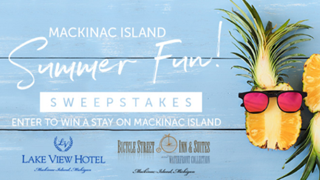 Mackinac Island summer fun sweepstakes new graphic