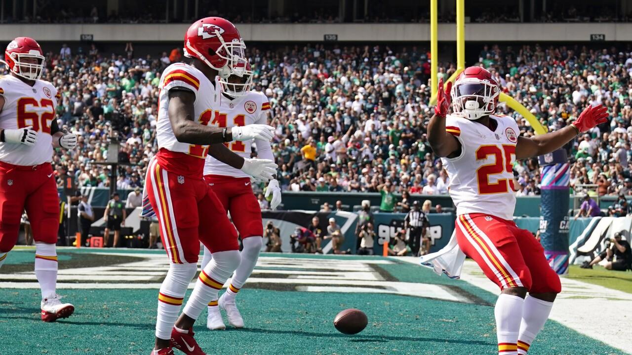 Chiefs Eagles Football