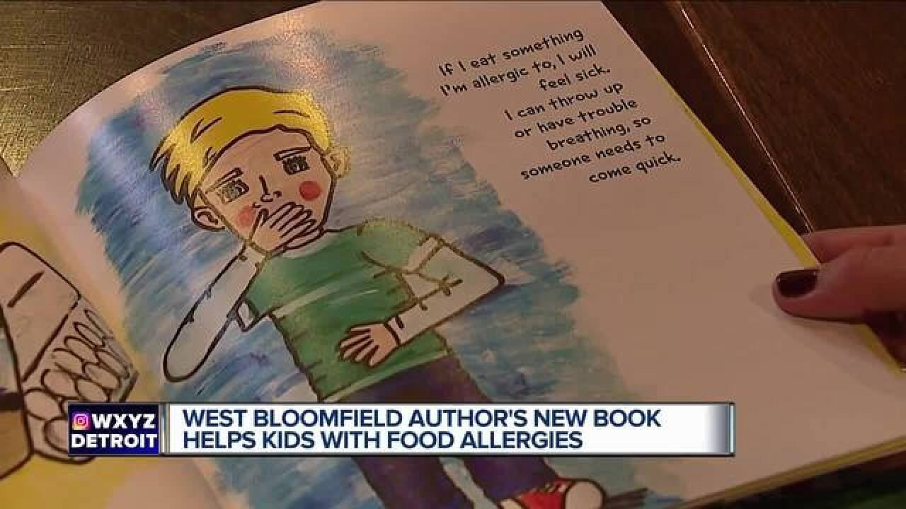 West Bloomfield native releases book for children with food allergies