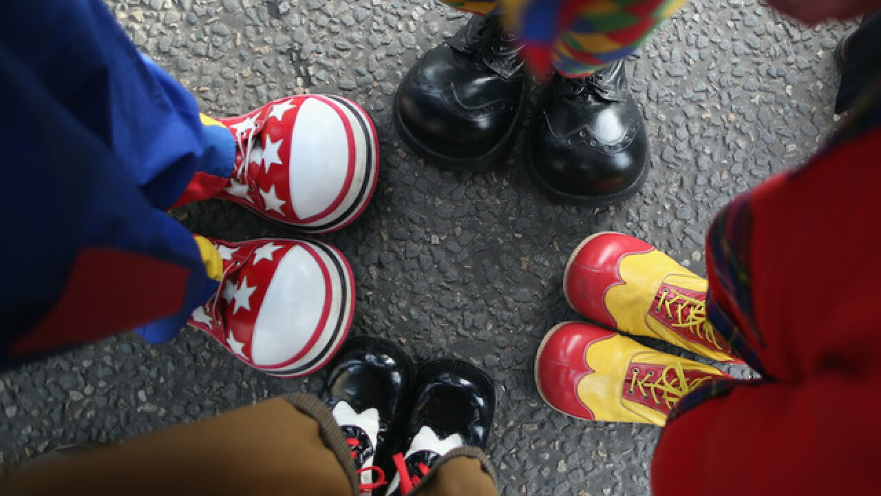 'Clown Lives Matter' march canceled