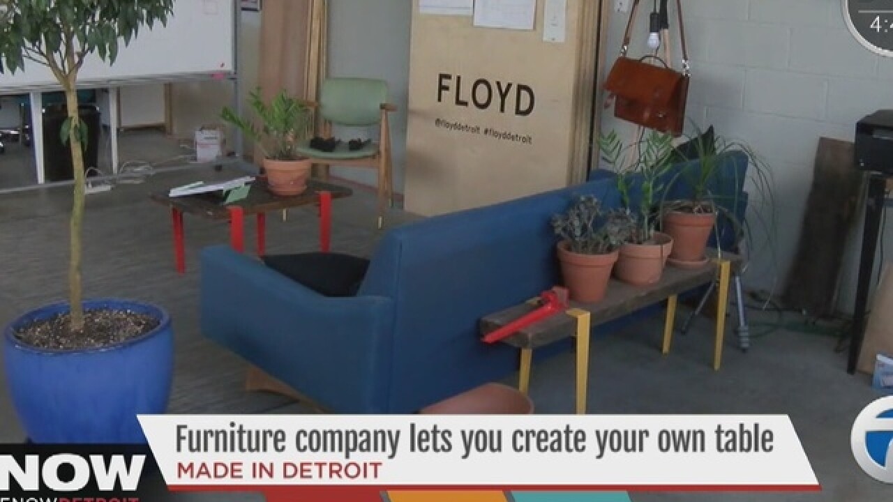 Company allows customers to create own table