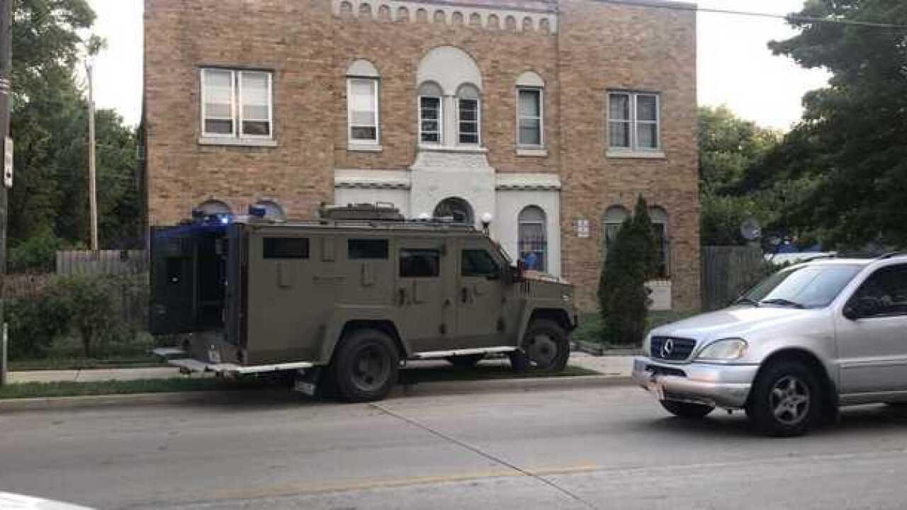 Large FBI, MPD presence on MKE's north side