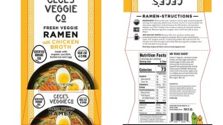 Ramen noodles recalled due to listeria concerns